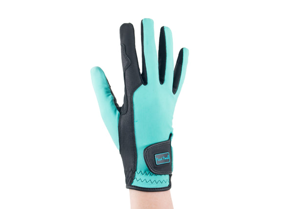 Turquoise Touchscreen Friendly Gloves