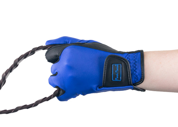 Royal Blue Touchscreen Friendly Gloves