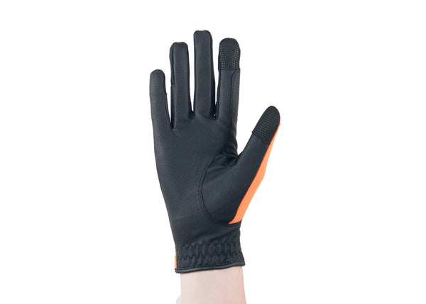 Orange Touchscreen Friendly Gloves