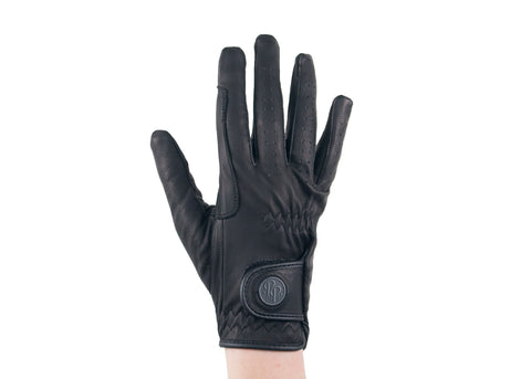 Black Napa Leather Gloves