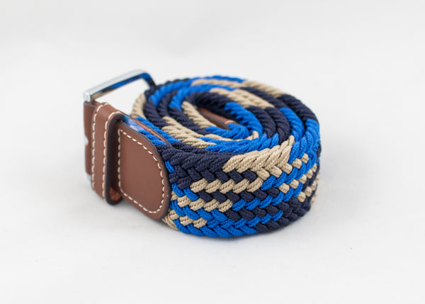 Multi-Coloured Woven Belts