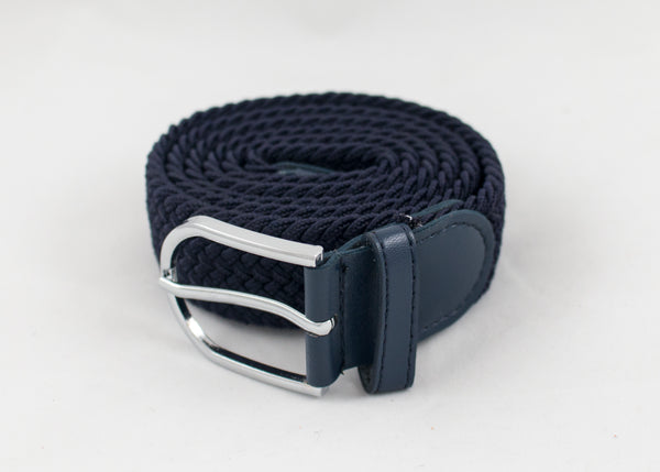 Matching Leather Woven Belts
