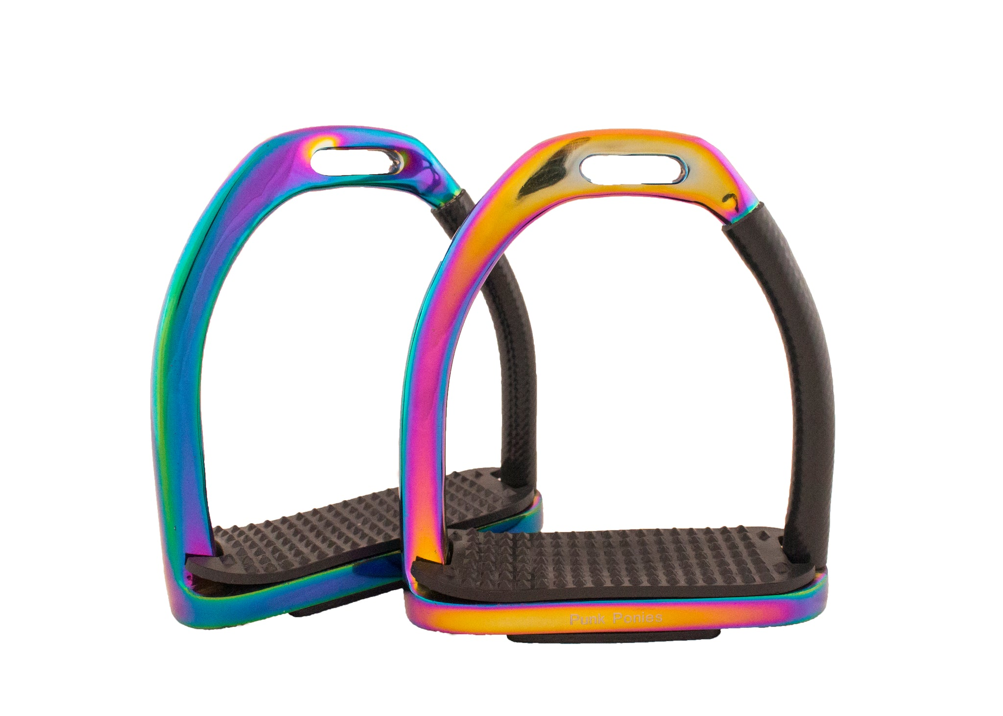 Rainbow Safer Stirrups