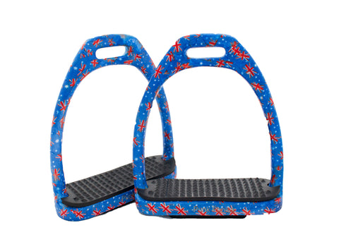 Patterned Stirrups - Aluminium