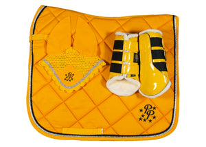 Sunflower Yellow Dressage Set