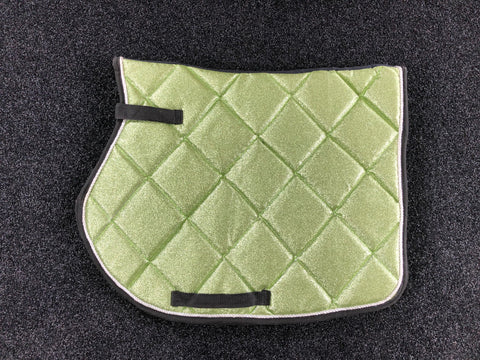 SECONDS Mint Glitter GP Saddle Pad