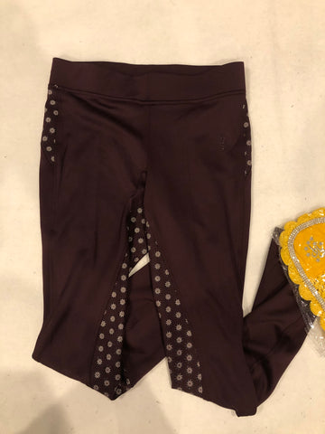 SAMPLE Dark Wine Riding Tights