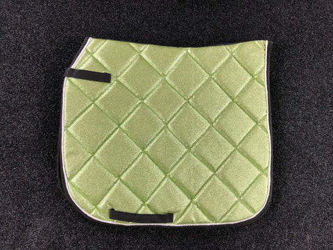 SECONDS Mint Glitter Dressage Saddle Pad