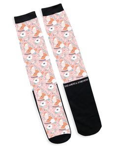 Pretty in Pink - Dreamers and Schemers Socks