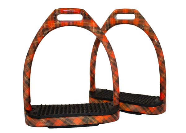 Patterned Stirrups - Stainless Steel