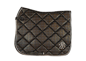 LE Paris Steel Suede Dressage Pad