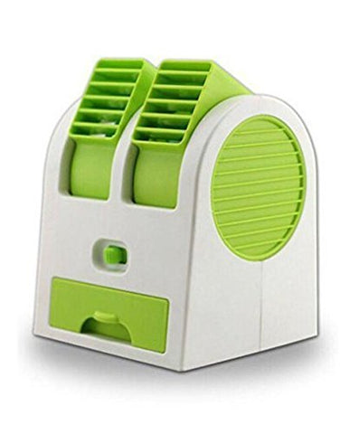 Bolt Mini Small Portable Cooling Fan Dual Bladeless Air Conditioner (USB Operated)