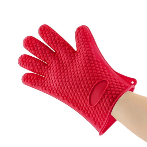 Bolt Cooking Gloves Rubber - Heat Resistant Cooking Gloves