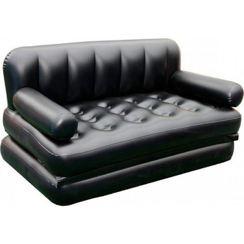 Bolt 5 In 1 Inflatable Sofa Air Bed With Free Electric Pump (Black)