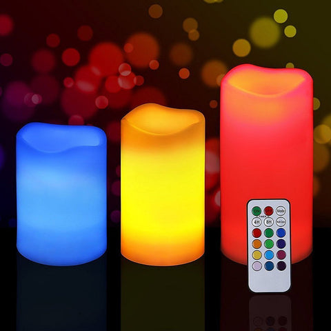 Maxxlite LED Colour Changing Candles