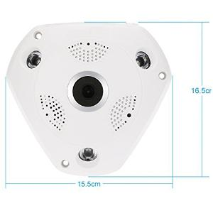 Maxxlite 960p Fisheye 360 Degree Panoramic Wireless HD IP Wifi CCTV Camera