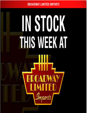 Broadway Limited In Stock List April 16