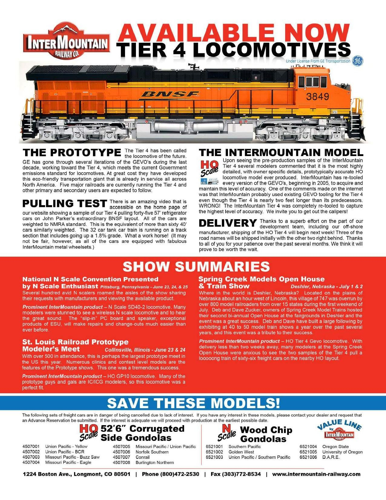 Intermountain Railway July Page 1