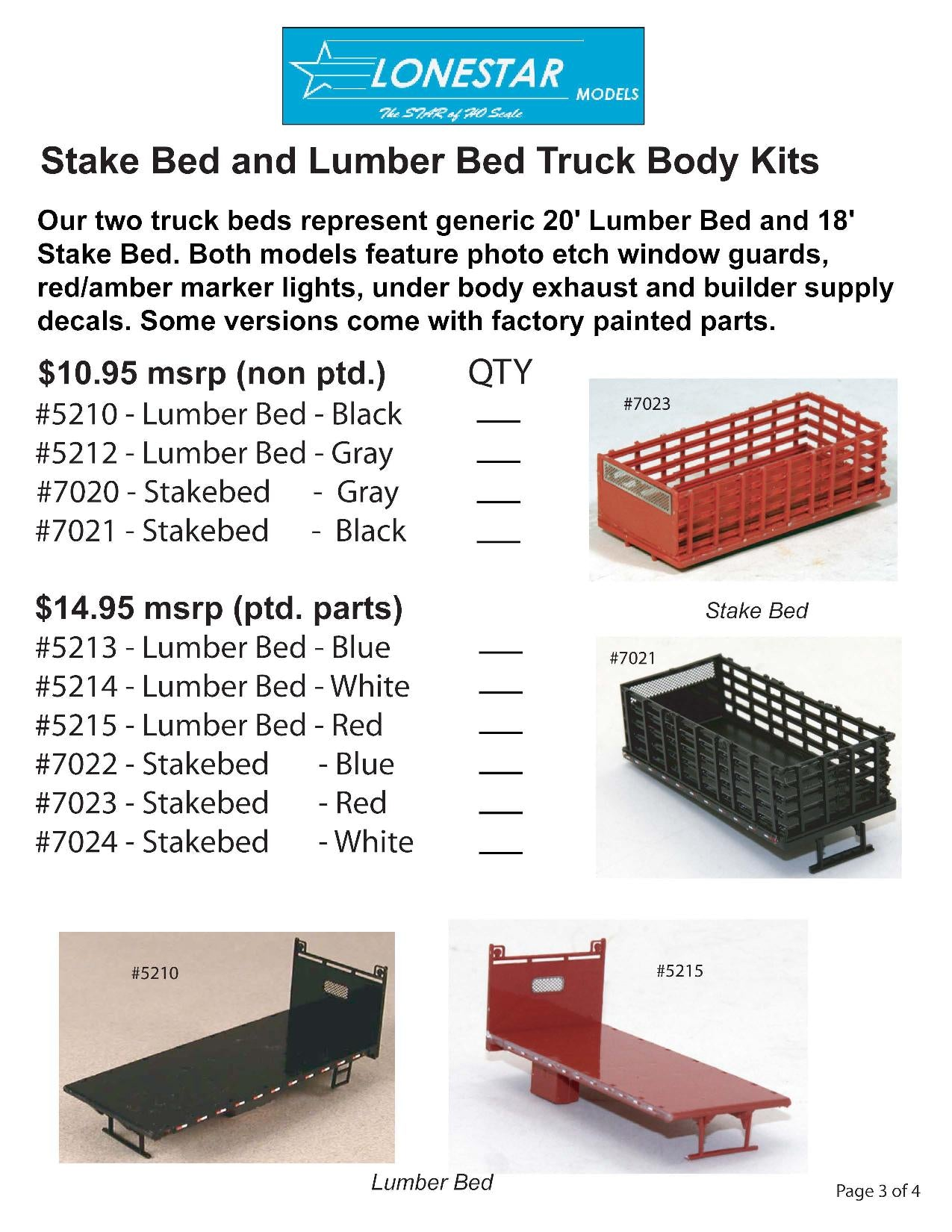 Lonestar Truck and Trailer Crates
