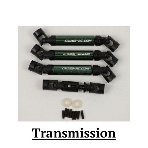 Transmission Parts Cross RC