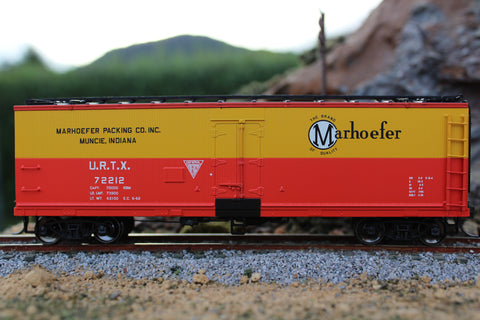 Intermountain Railway Refrigerator Cars Marhoefer