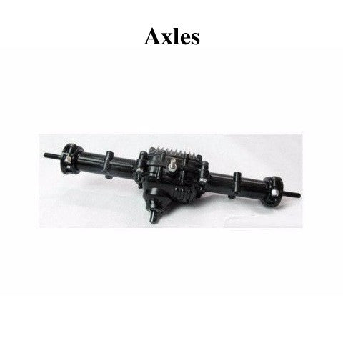 Axle replacements for cross rc rock crawlers