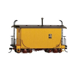 On30 Bachmann 18' Wood Caboose - Yellow