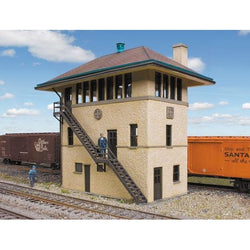 Walthers Cornerstone Santa Fe Interlocking Tower