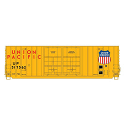 50' Double Boxcar - Intermountain #4133004 HO Gunderson 50' High Cube Double Door Boxcar Union Pacific