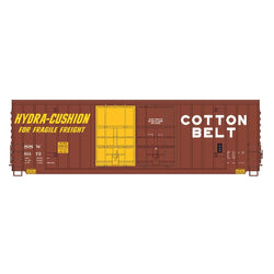 50' Double Boxcar - Intermountain #4134005 HO Gunderson 50' High Cube Double Door  Peak Roof Cotton Belt