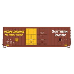 50' Double Boxcar - Intermountain #4134006 HO Gunderson 50' High Cube Double Door  Peak Roof SP