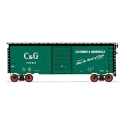 50' Double Boxcar - Intermountain #45487 HO 40' PS-1 Boxcar Columbus & Greenville