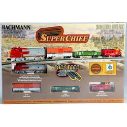 Super Chief Train Set N scale - Santa Fe