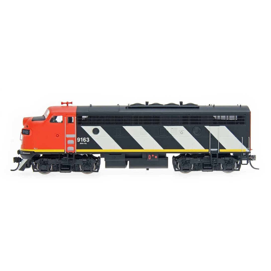 EMD FP7 & F7B - HO Intermountain #490100 EMD F7A Canadian National DCC Equipped