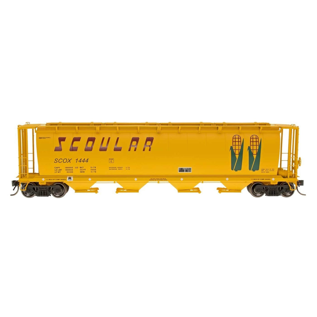 HO Hopper - HO Intermountain #45106 Cylindrical Covered Hopper Scoular