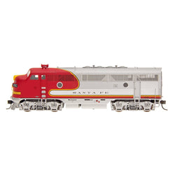 Intermountain F3 - HO Intermountain #49105 EMD F3A Locomotive Santa Fe DCC Equipped