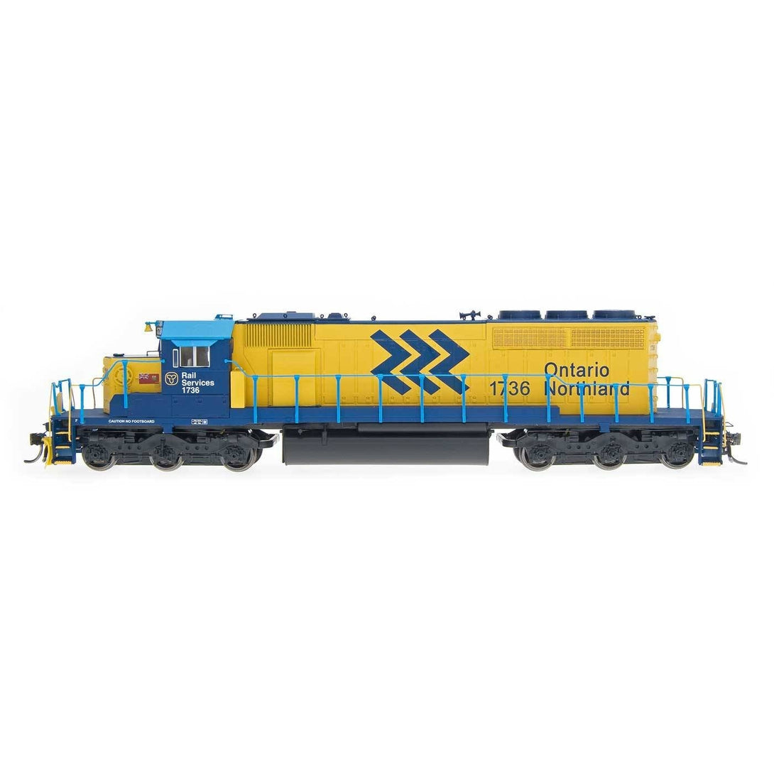 Intermountain SD40-2 - HO Intermountain #49343 SD40-2 Ontario Northland DCC Equipped