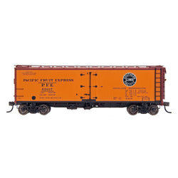 PFE Wood Refrigerator Reserve - Intermountain #47415 HO PFE Wood Refrigerator Car - Single Herald