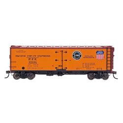 PFE Wood Refrigerator Reserve - Intermountain #47416 HO PFE Wood Refrigerator Car - Double Herald