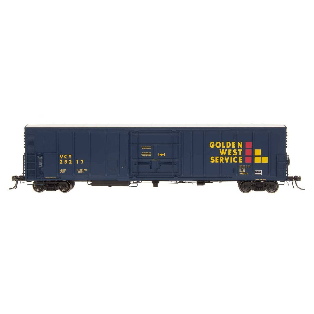 R-70-20 Refrigerator Car - HO Intermountain #48808 R-70-20 Refrigerator VCY Golden West Service