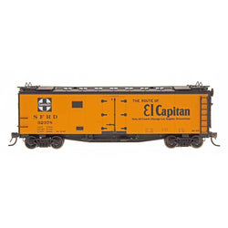 Refrigerator Car - HO Intermountain #46107 El Captain - RR23 Ship And Travel Santa Fe