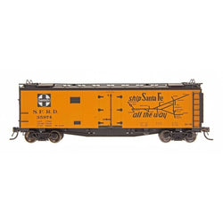 Refrigerator Car - HO Intermountain #46110 The Chief West - RR32 Straight Line Map Santa Fe