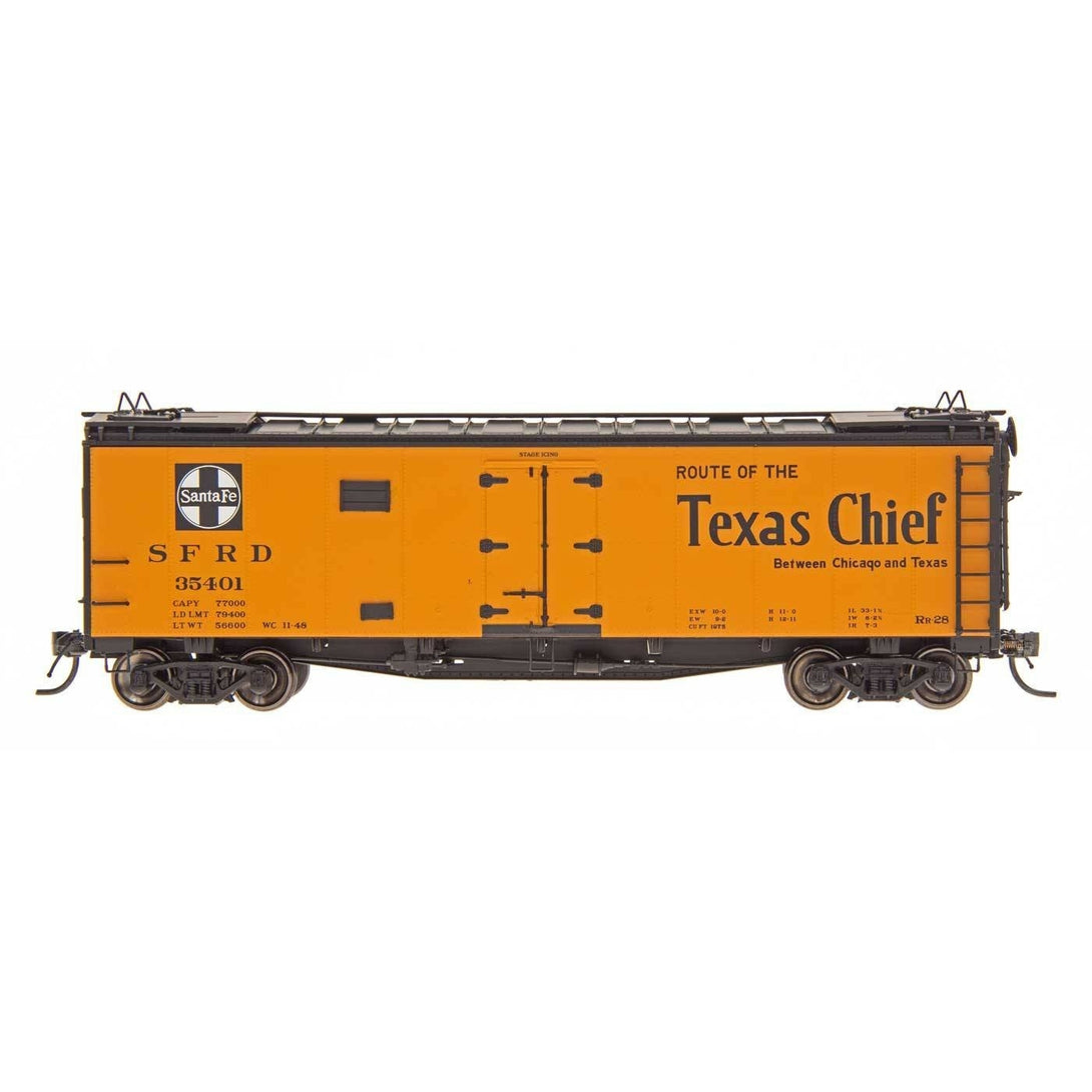 Refrigerator Car - HO Intermountain #46115 Texas Chief - RR28 Ship And Travel Santa Fe