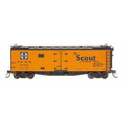 Refrigerator Car - HO Intermountain #46118 The Scout - RR32 Straight Line Map Santa Fe