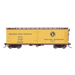 Refrigerator Car - HO Intermountain #47721-09 FGE Wood Refrigerator Car Western Fruit Express #67357