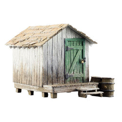 Landmark Structures Wood Shed