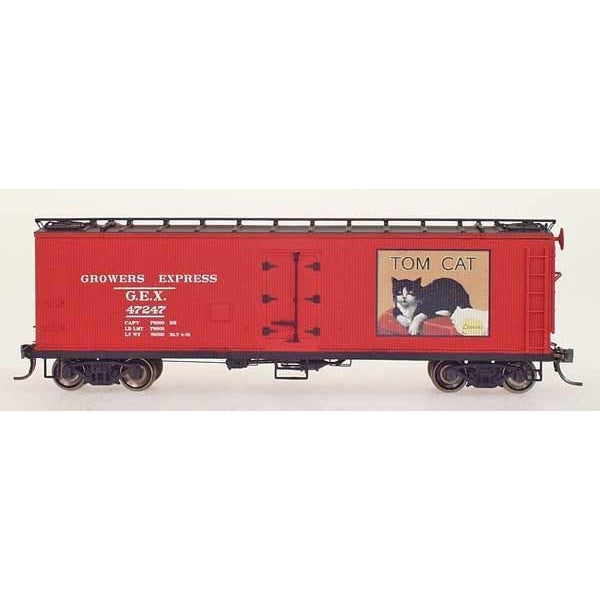 Yesteryear - HO Intermountain #Y51016-03 G.E.X Yesteryear Billboard Refrigerator Car Tom Cat