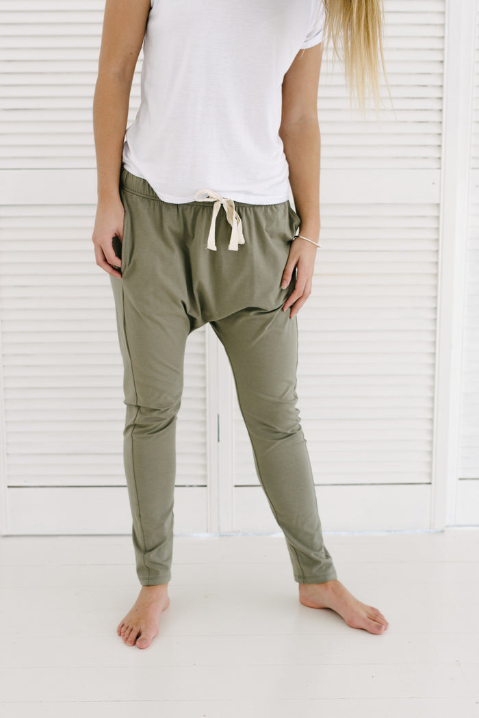 Jordan Jogger - Pebble| Pants | Betty Lane Womens Clothing Victoria