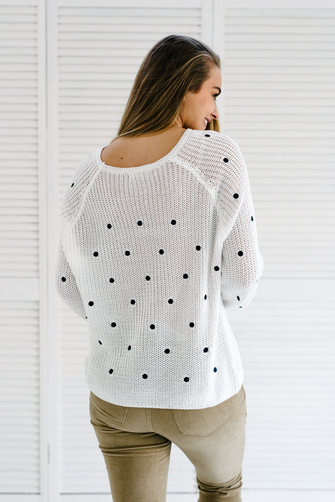Shiloh Knit - White| Knitwear | Betty Lane Womens Clothing Victoria