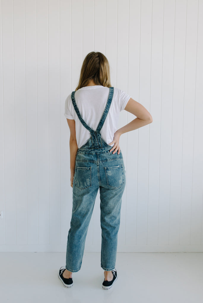 River Denim Overalls